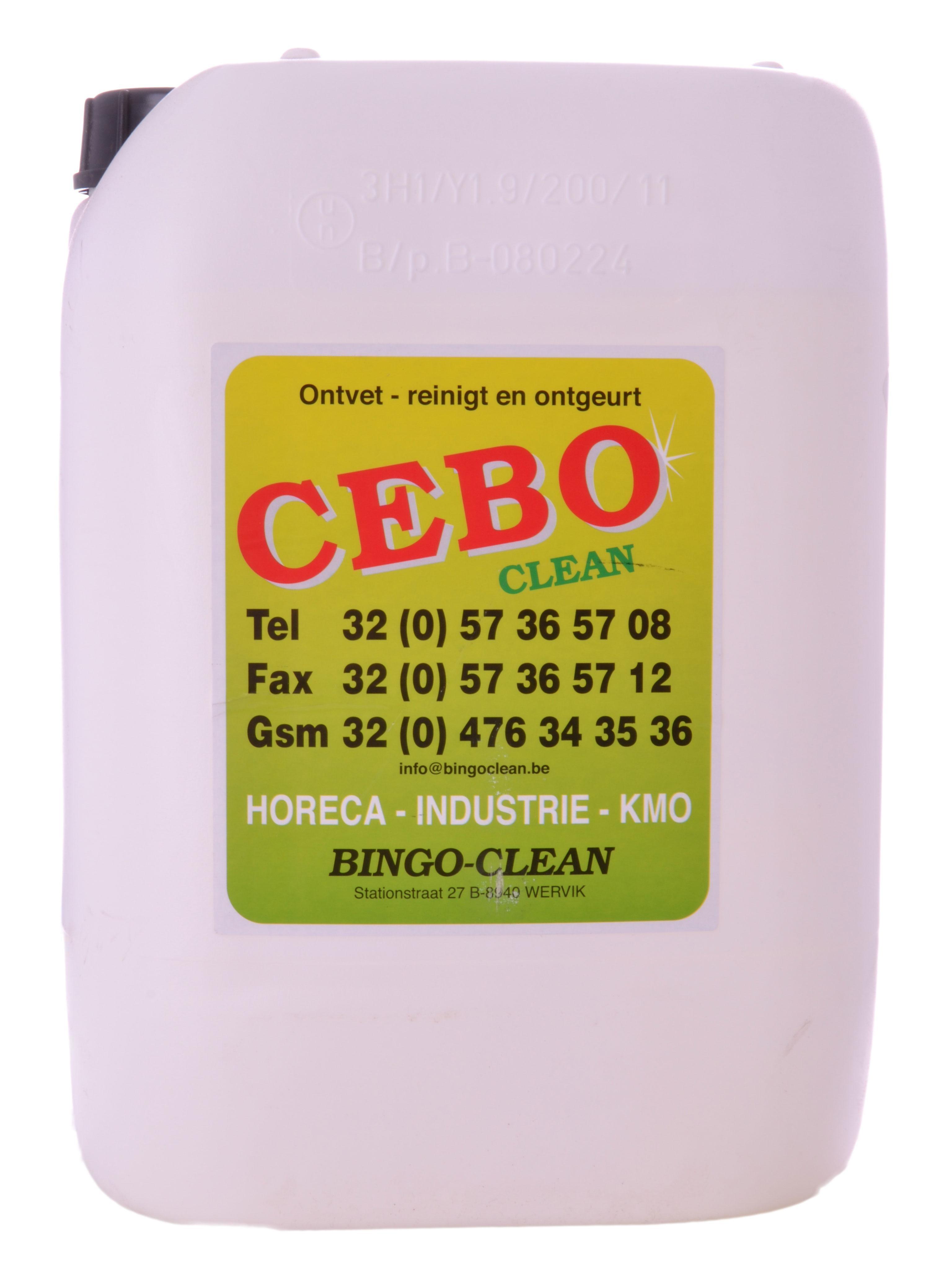 CEBO Clean 10L Super Ontvettingsmiddel