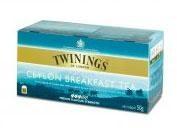 Twinings Tea Ceylon Breakfast 25st