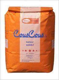 Couscous honig professional 5kg zak