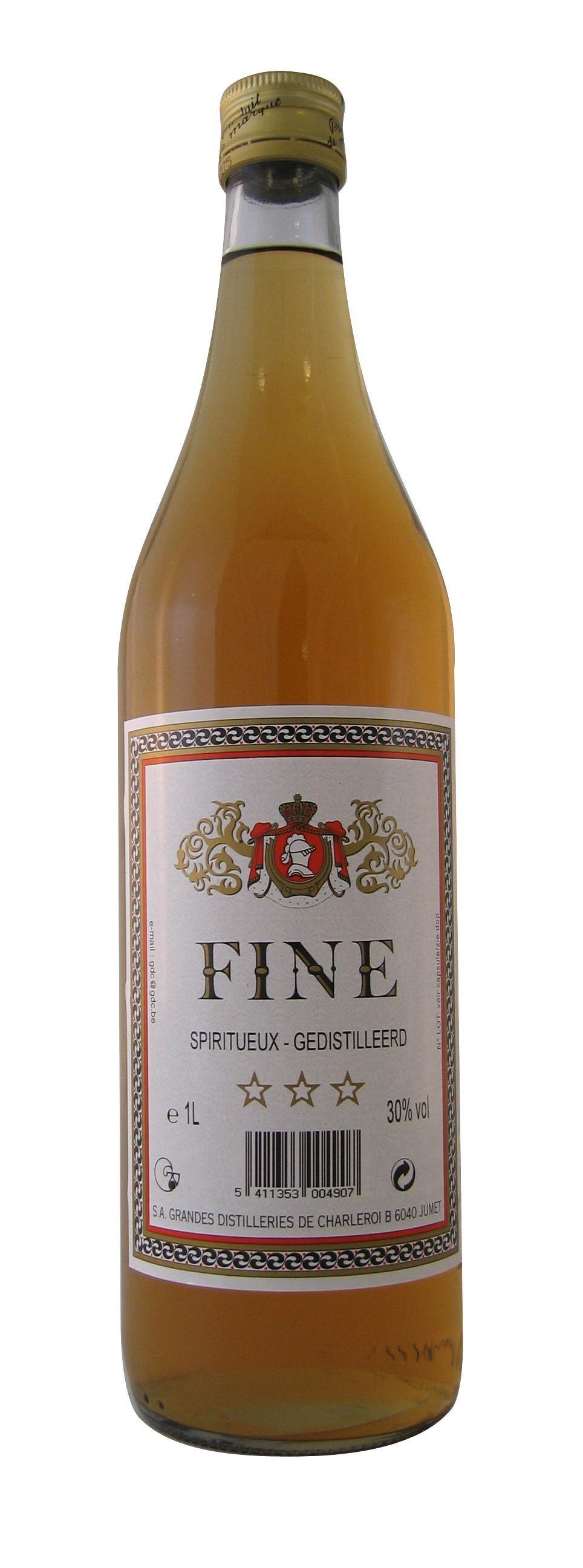 Keukencognac Fine 1L 30% Brandy