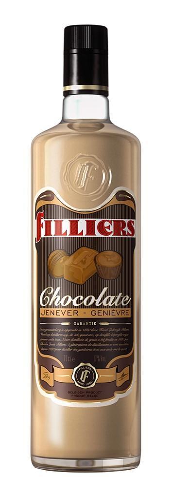 Filliers chocoladejenever 70cl 17%