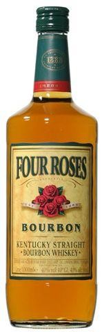 Four roses 1l 40% bourbon whiskey