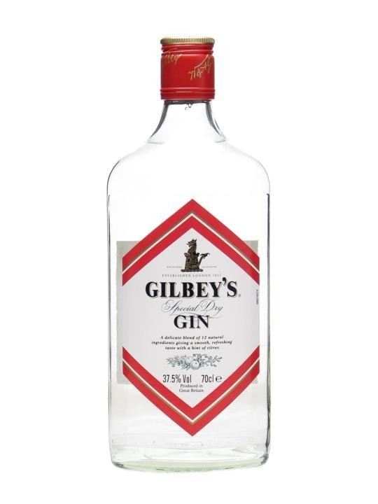 Gin Gilbeys 70cl 37.5% Special Dry