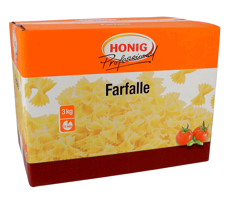 Honig pasta farfalle 3kg Professional