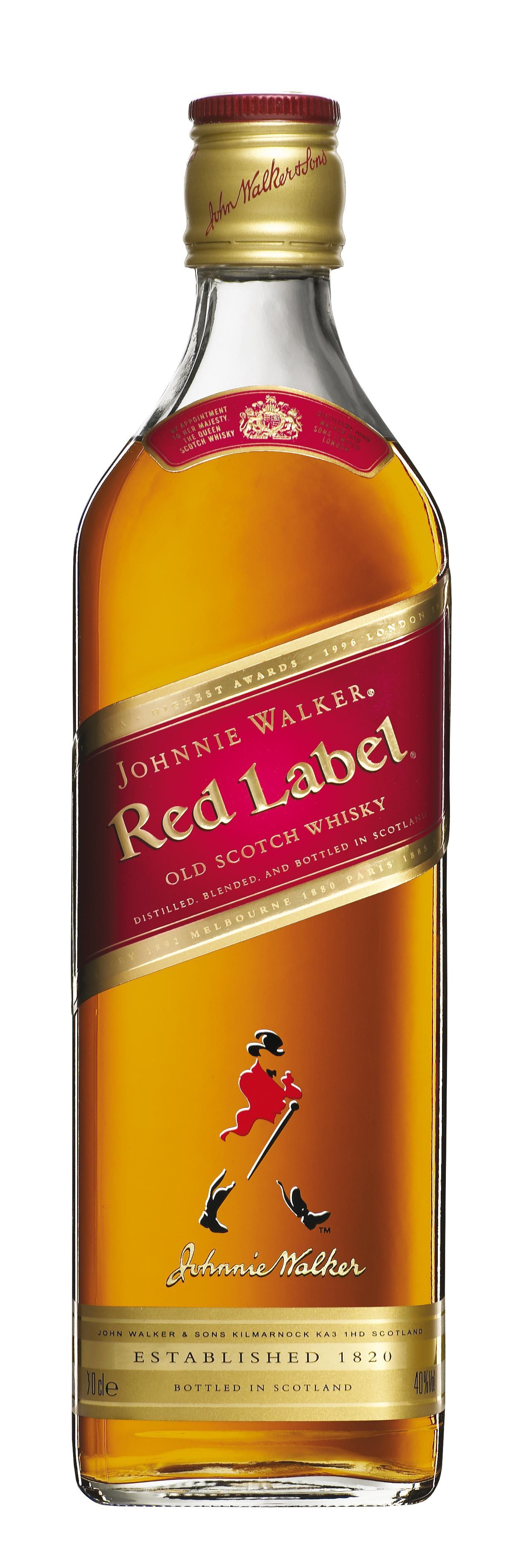 Johnnie Walker Red Label 70cl 40% Blended Scotch Whisky