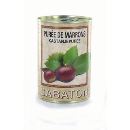 Kastanjepuree in blik 440gr 0.5L Sabaton