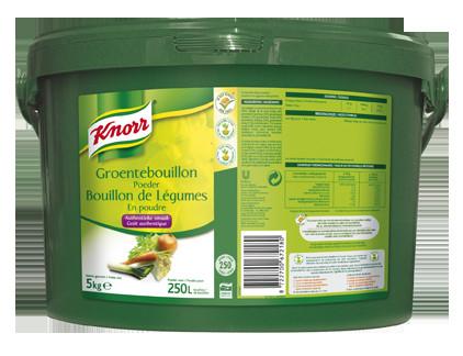 Knorr groentebouillon poeder 5kg emmer