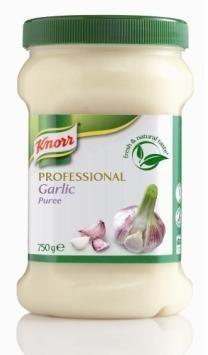 Knorr kruidenpuree knoflook 750gr professional