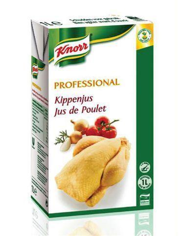 Knorr professional kippenjus 1l brick