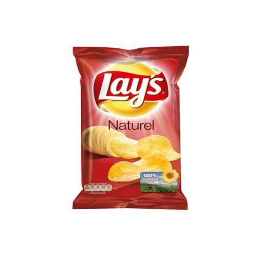 Lays Crispy Chips naturel zout 20x45gr