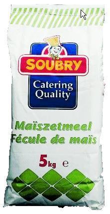 Maizena (maiszetmeel) 5kg soubry
