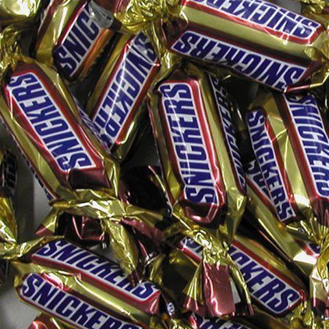 Miniatuur snickers 244st 2.5kg individueel verpakt