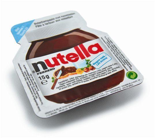Nutella chocoporties cups 100x18.5gr