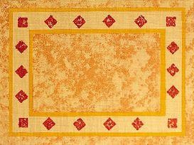 Placemats Palazzo Orange 31x42cm 500st Lotus Professional