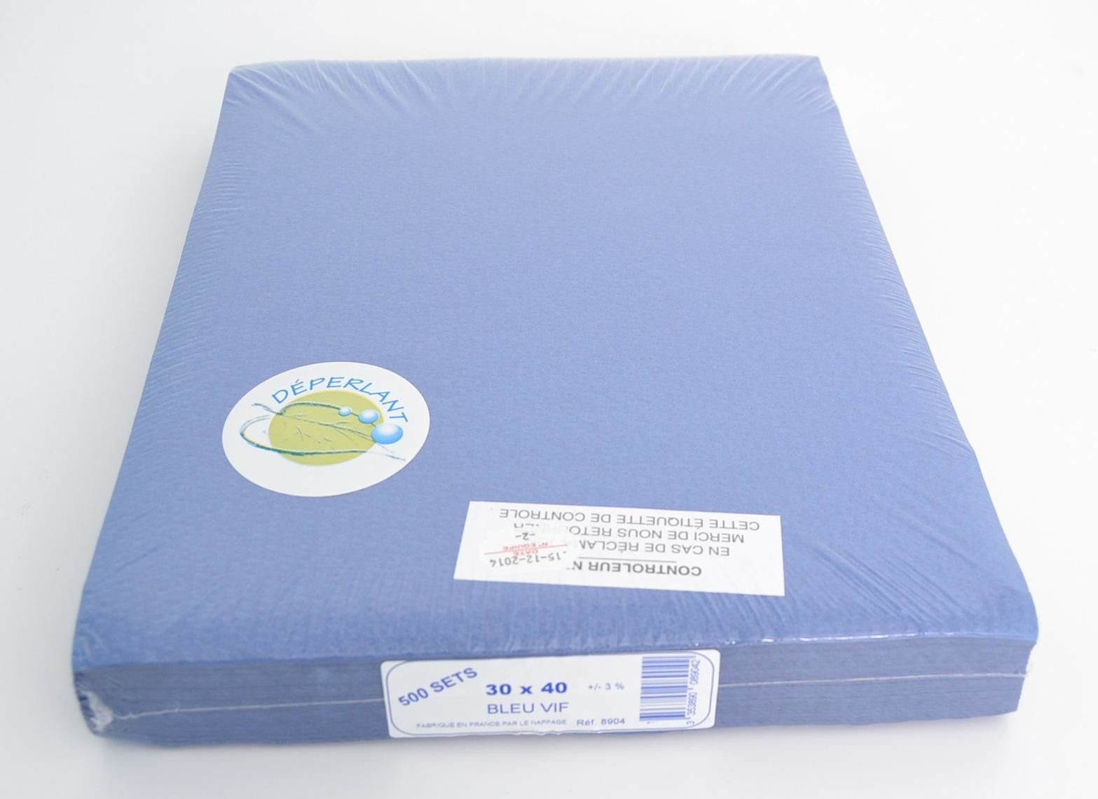 Placemats donkerblauw 30x40cm 500st ref89.04