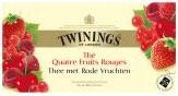 Twinings Tea Four Red Fruits 25st 4 rode vrucht