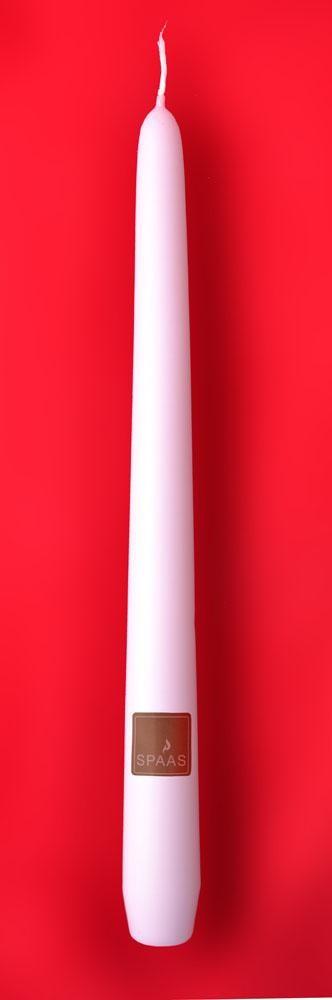 Kaarsen Spaas wit 25cm 100st Festilux