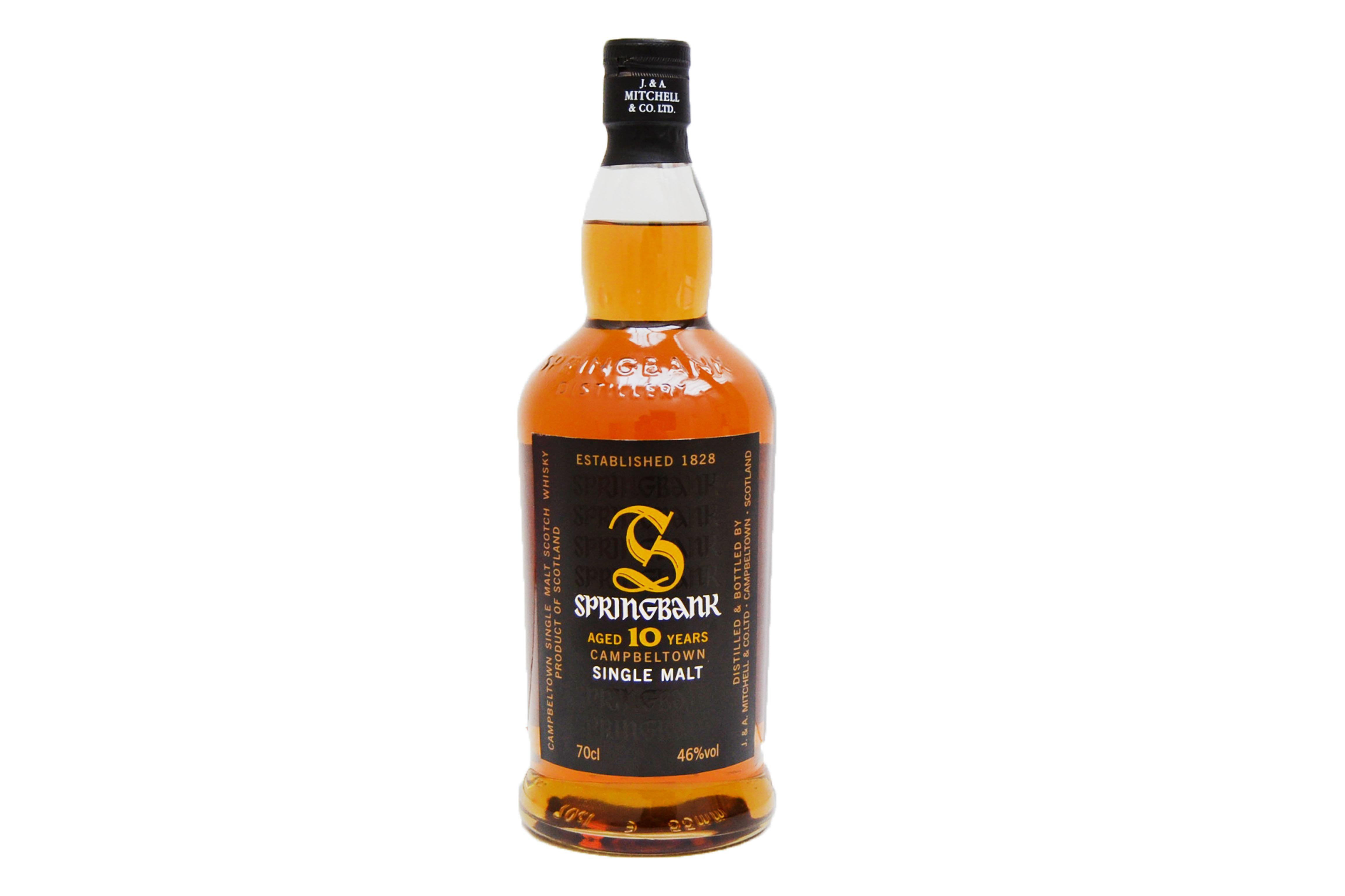 Springbank 10 Year 70cl 46% Campbeltown Single Malt Scotch Whisky