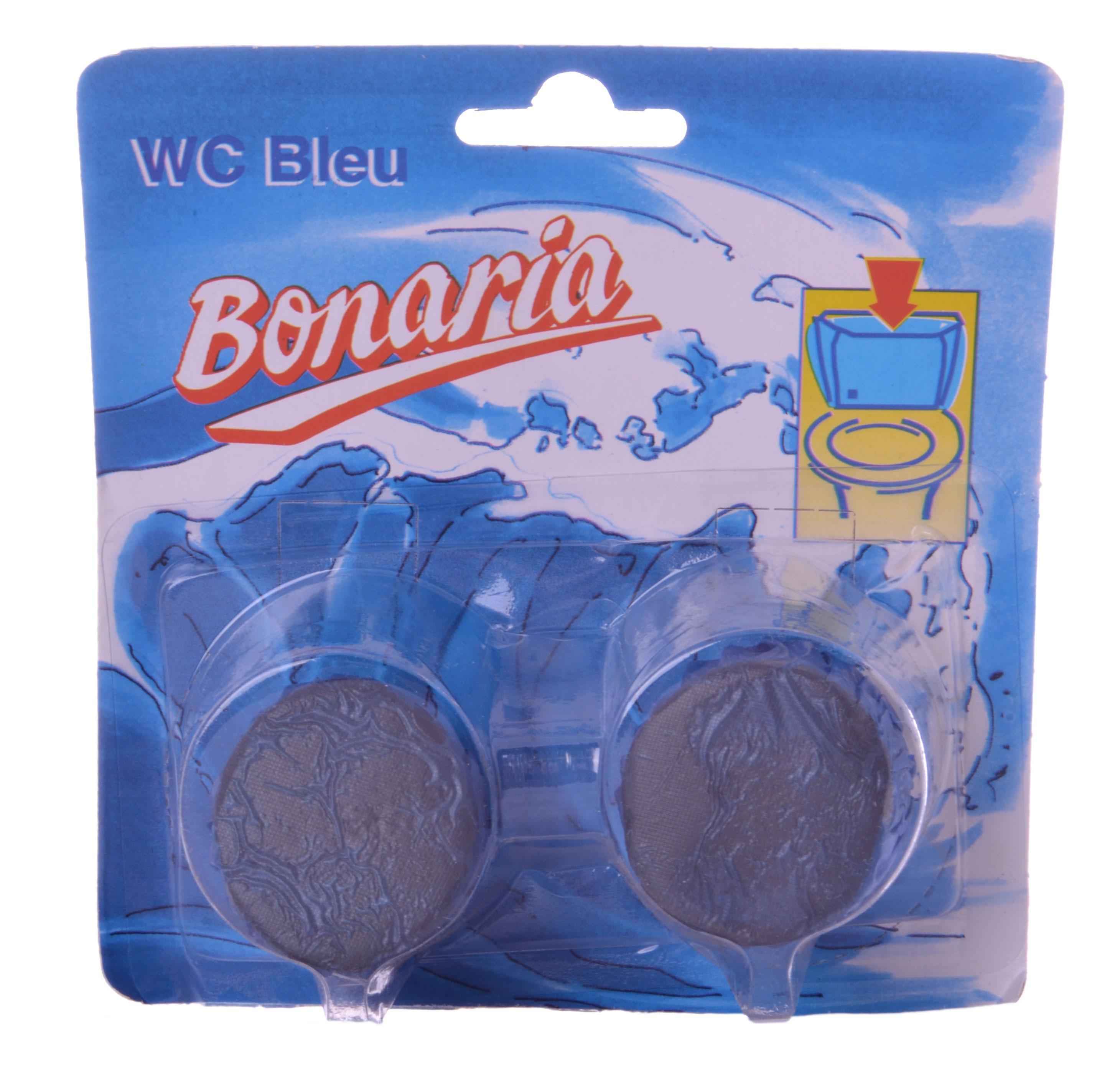 WC-Spoeler blokjes blue 2x45gr Bonaria