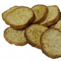 Haust Toast Krokant rond 16x100gr Horeca