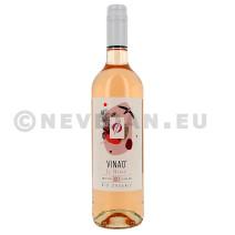 Vina'0° Le Rosé wijn zonder alcohol 75cl Bio (Wijnen)