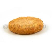 Visburger met kruiden 100gr voorgebakken 5kg Pieters Foodservice Diepvries