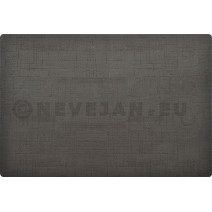 Duni Placemats Silicone 30x45cm Zwart 6st