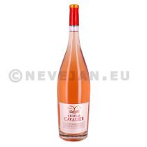 Chateau Cavalier rose Cuvée Marafiance 1.5L magnum 2016 Cotes de Provence (Wijnen)