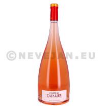 Chateau Cavalier Grand Cavalier rose 1.5L Magnum 2016 Cotes de Provence (Wijnen)