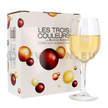 Les Trois Couleurs La Blonde 3L Vin de Pays d'Oc Bag in Box