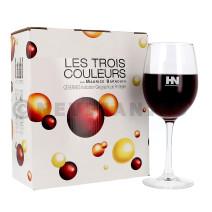 Les Trois Couleurs La Brune 3L Vin de Pays d'Oc Bag in Box