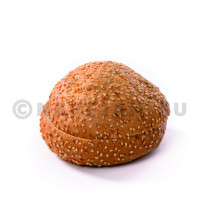 Hamburger Bun met Sesam en Peper 70x100gr Diversi Foods N° 1927 diepvries