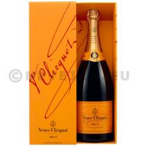 Champagne veuve clicquot 1.5l brut + etui