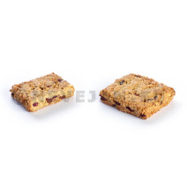 Panesco Flapjack Haverkoekje fruit 60x80gr 5001043