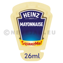 Heinz Mayonaise SqueezMe porties 70x26ml (Sauzen)