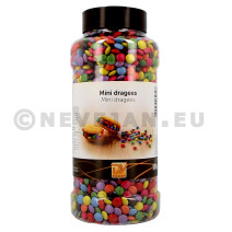 Mini Smarties (dragees) 900gr DV-Foods (Koek - snoep - chips - nootjes)