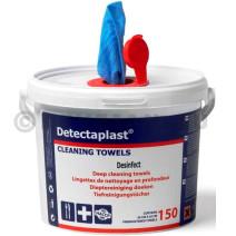 Detectaplast Cleaning Towels 150st Desinfecterende Poetsdoekjes (Poetspapier & Zakdoekjes)