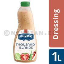 Hellmann's Thousand Island's Dressing 1L knijpfles