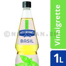 Hellmann's vinaigrette basil 1L knijpfles