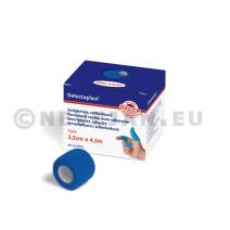 Detectaplast Zelfhechtend Snelpleister Blauw 2.5cmx4.5m 3x1stuk