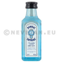 Miniatuur Gin Bombay Sapphire 5cl 47%