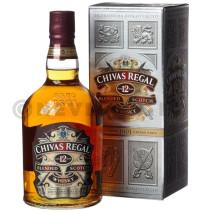 Chivas regal whisky 1l 40% 12 years + etui