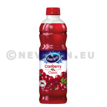 Cranberry fruitsap 1L PET Ocean Spray