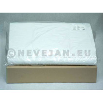Damast Tafelpapier wit 80x80cm 250st (60gr)