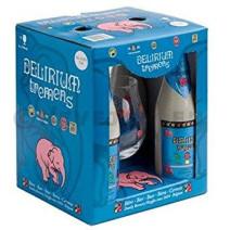 Delirium Tremens 4x33cl + Glas + Geschenkverpakking