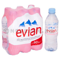 Evian 6x50cl PET mineraal water