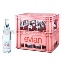 Water Evian 12x1L bak
