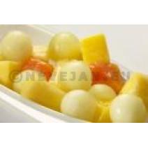 Dirafrost Exotische Fruitsalade zonder sap 1kg Diepvries