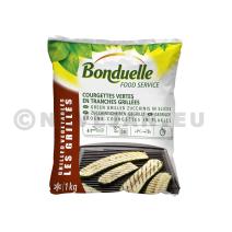 Gegrilde Groene Courgettes in plakjes 1kg Bonduelle Food Service Diepvries
