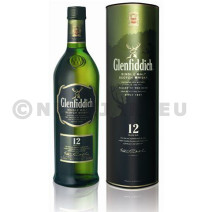 Glenfiddich 12year 1l 43% malt whisky speyside
